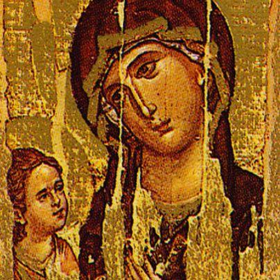 Icona Madonna Monte Athos (Odighetria)