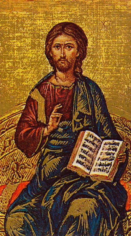 Cristo in trono