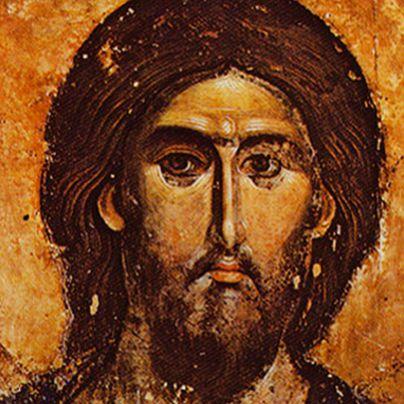 Icona Cristo serbo
