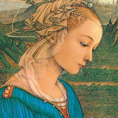 Icona Madonna in adorazione
