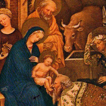 Icona Adorazione dei Magi di Felice da Fabriano