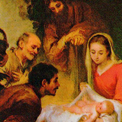 Icona Natività di Gesù