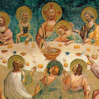 Icona ultima cena Abbazia di Pomposa