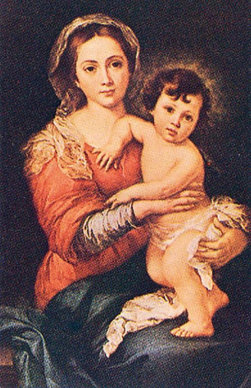 Madonna con Bambino di Murillo