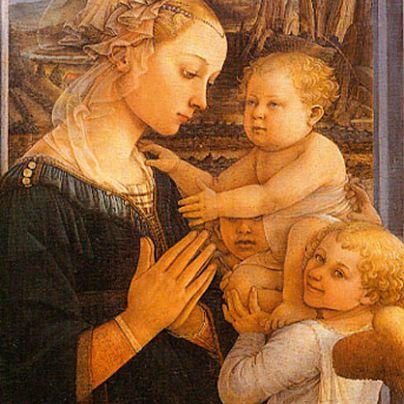 Icona Madonna con Bambino e Angeli