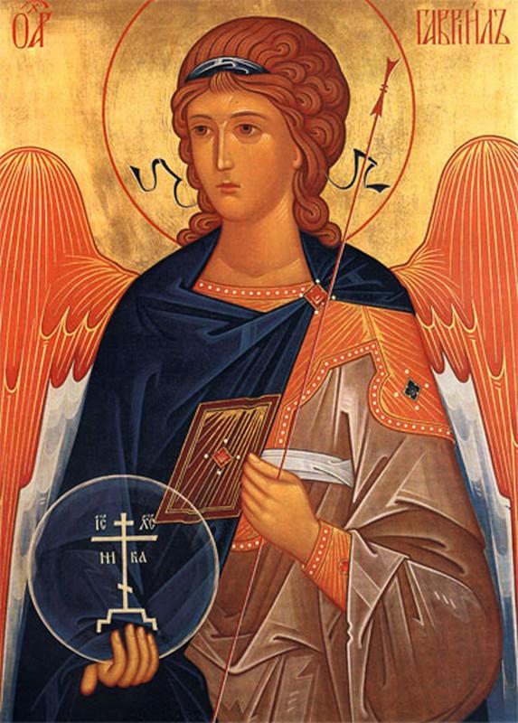 Popolare vendita Icona Arcangelo Gabriele - Laboratorio icone religiose CJ11