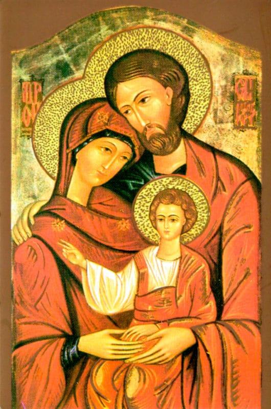 Vendita Icona Sacra Famiglia Laboratorio Icone Religiose